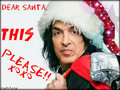 Dear Santa... - paul-stanley wallpaper