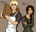 Katniss and Peeta ♡ - peeta-mellark-and-katniss-everdeen fan art