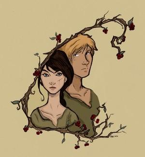 Katniss and Peeta ♡