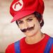 Penelope Cruz does Mario impersonation