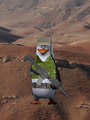 Kowalski Reporting For Duty At The Desert - penguins-of-madagascar photo