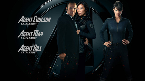 Phil Coulson & Melinda May wallpaper titled Phil Coulson & Melinda May & Maria Hill - Agents of S.H.I.E.L.D.