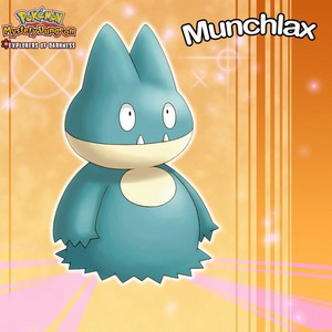 Munchlax: The pre-evolved form of Snorlax