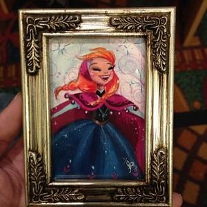 Anna mini painting