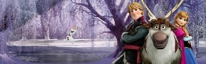 Frozen - Uma Aventura Congelante Banner