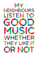Good music - quotes photo