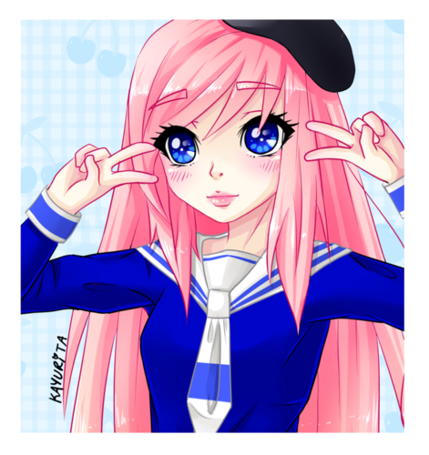 Random achtergrond with anime called LDShadowLady