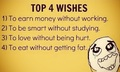 Top 4 Wishes - random photo