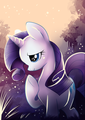 Rarity in the Forest - rarity-the-unicorn photo