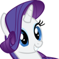 Rarity Smiling - rarity-the-unicorn photo