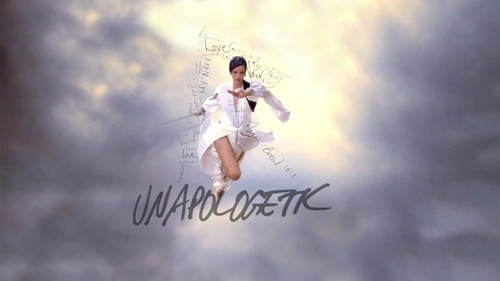 Rihanna wallpaper probably with a wicket titled Coldplay Princess of China (Feat Rihanna)