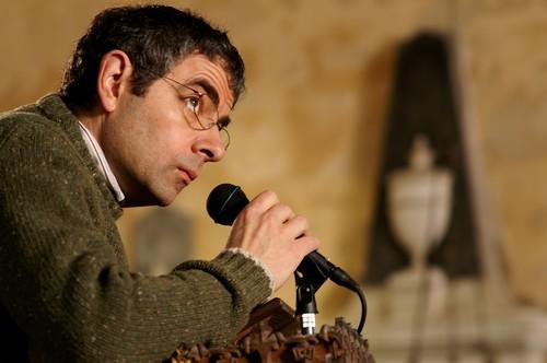 Rowan Atkinson wolpeyper titled Keeping Mum