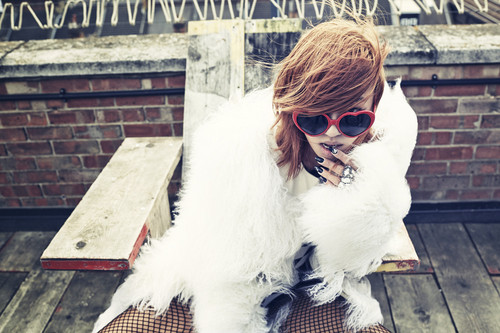 SISTAR (씨스타) wallpaper probably with sunglasses entitled Hyorin – Love & Hate