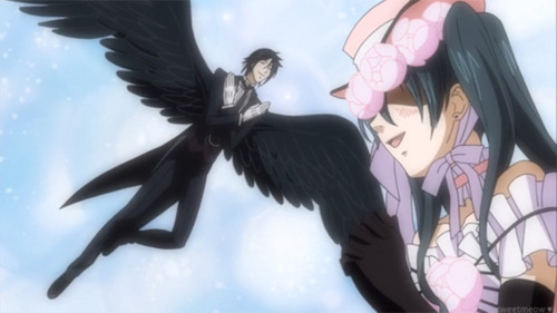 Sebastian Michaelis achtergrond titled 'Angel' Sebastian :)
