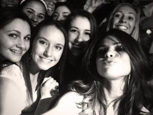 Selena meets fans after her concert - November 18