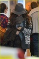 Selena arriving at LAX (November 30) - selena-gomez photo