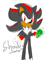 Shadow The Hedgehog drawing - shadow-the-hedgehog fan art