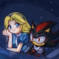 .:Star Gazing:. - shadow-the-hedgehog photo