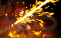 fire battle - shakugan-no-shana photo