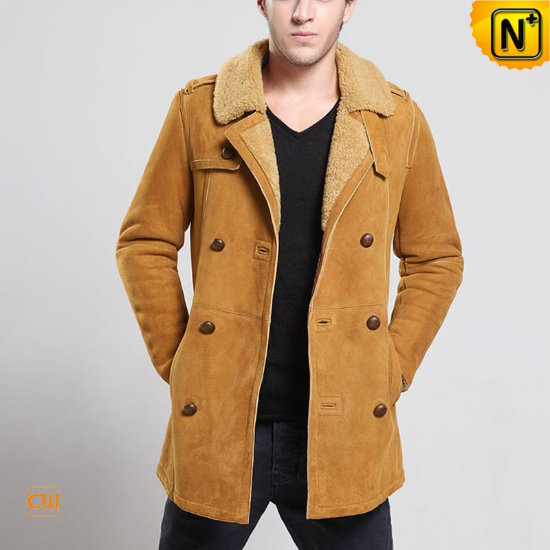Sheepskin Coats for Men images Shearling Sheepskin Coat for Men ...