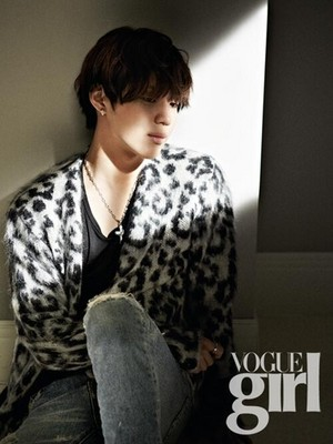 SHINee Taemin on Vogue Girl Magazine