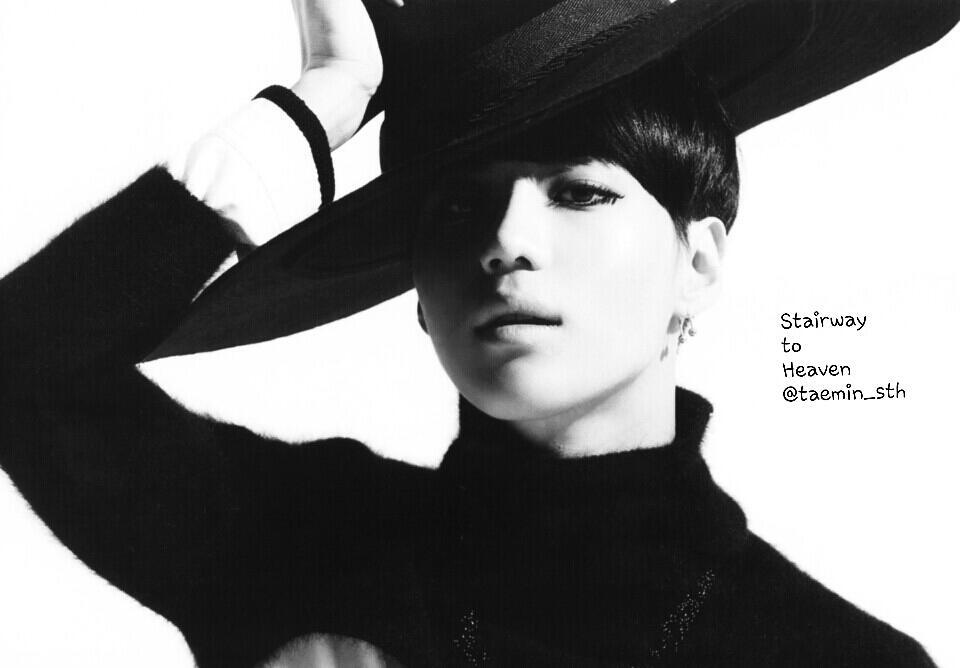 Shinee Taemin Photoshoot postcard - SHINEE TAEMIN
