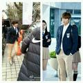 Taemin spotted wearing Jeguk High School uniform. Is he going to cameo on The Heirs ? - shinee photo