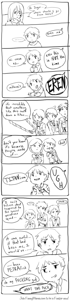 Eren's terrible puns
