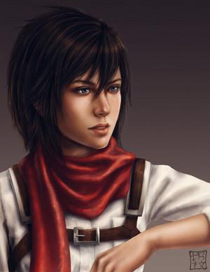 ☤SnK☤(Mikasa)