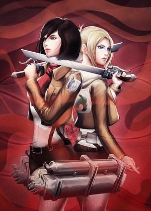 Mikasa & Annie