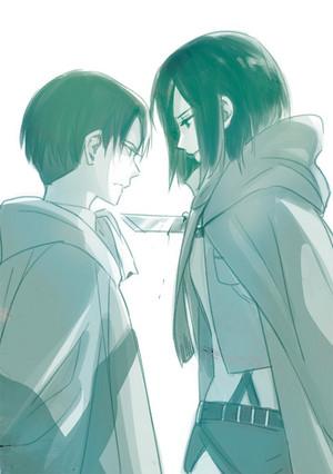 Levi & Mikasa