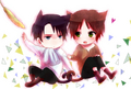 Kawaii Ereri - shingeki-no-kyojin-attack-on-titan fan art