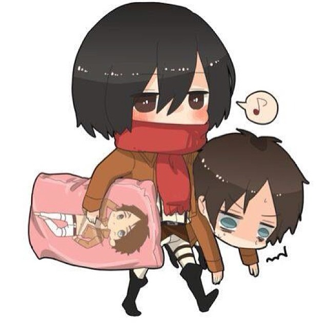 Eren X Mikasa Shingeki No Kyojin Attack On Titan Fan Art