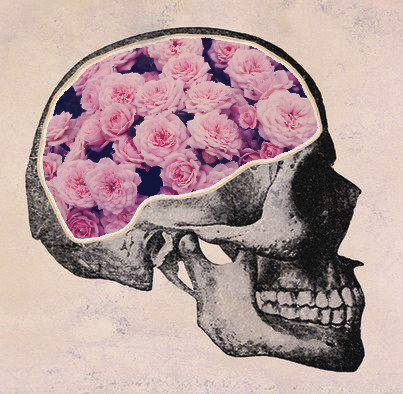 Skulls images skullflowers wallpaper and background photos 36136698 skulls wallpaper probably with a fleur de lis a bouquet and a rose called mightylinksfo