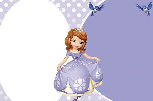 Sofia The First wallpaper possibly with a frock entitled sofia invitacion