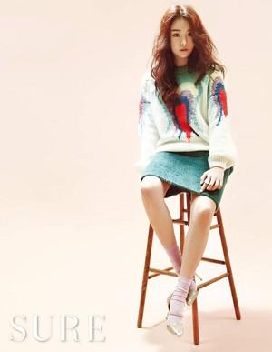 Ji Eun for 'Sure'