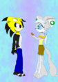 Chibi-ish Romance thing - sonic-fan-characters photo