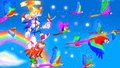 .:Flying High Over The Sky:. - sonic-the-hedgehog wallpaper