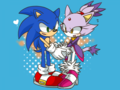 Holding Hands - sonic-the-hedgehog fan art