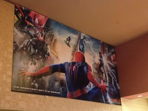 LEAKED The Amazing Spider-Man 2 Poster with Green Goblin and Rhino