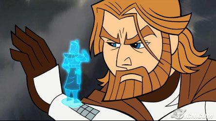 Star Wars Clone Wars 2003 Obi Wan Obi-wan Kenobi Star-wars