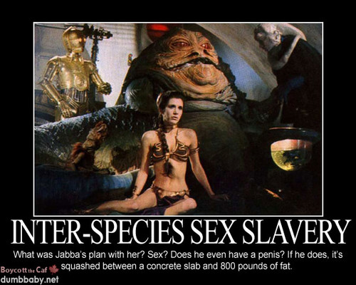 étoile, étoile, star Wars fond d'écran with animé called GROSS! Poor Leia as a sex slave