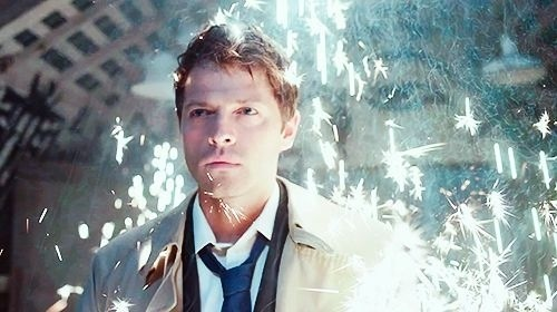 TV Male Characters wallpaper with a well dressed person entitled Castiel (Supernatural)