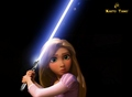 Rapunzel the jedi - tangled photo