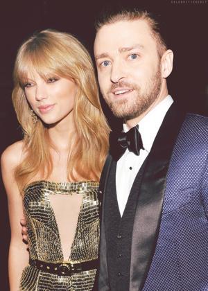 Justin and Taylor - AMAs 2013
