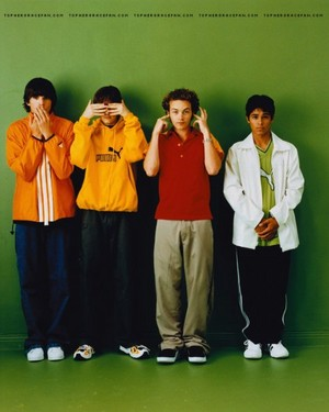 Danny Masterson - Steven Hyde, Ashton Kutcher - Michael Kelso, Topher Grace - Eric Forman