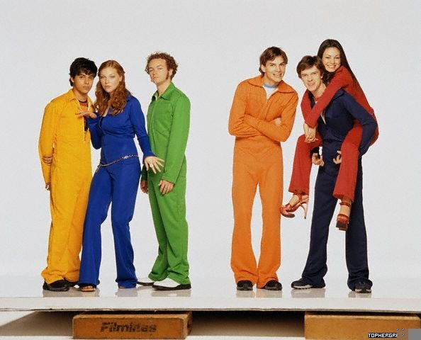 That '70s Показать Cast Shoot