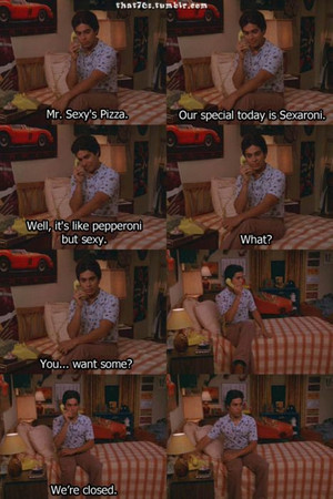 fez and pizza :D