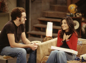 Jackie Burkhart and Steven Hyde