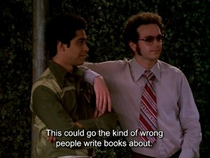 Steven Hyde and Fez